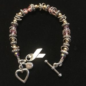 7215b114c Jewelry | Elisa Ilana Breast Cancer Awareness Bracelet | Poshmark
